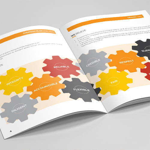 Reports & Brochures, Graphic Design & Printing