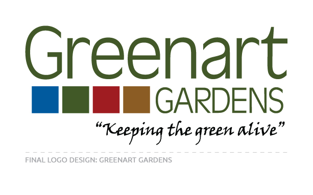 Final Logo Design for Greenart Gardens