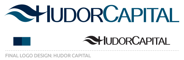Final design for the Hudor Capital Logo by Red Ant Media