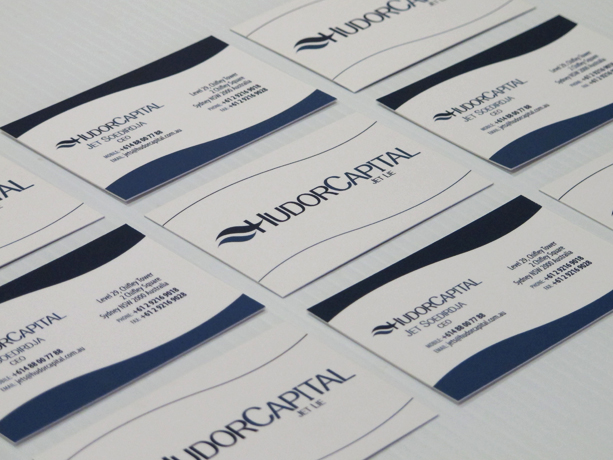Graphic Design for Hudor Capital Business Card
