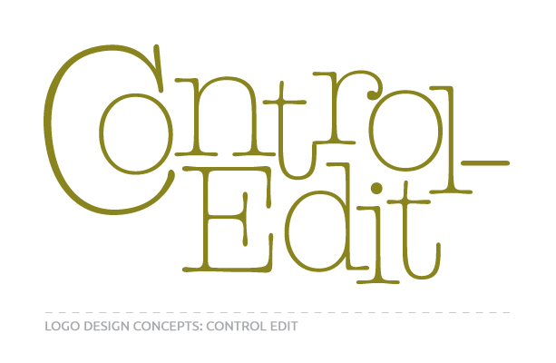 Logo Concepts for Control Edit