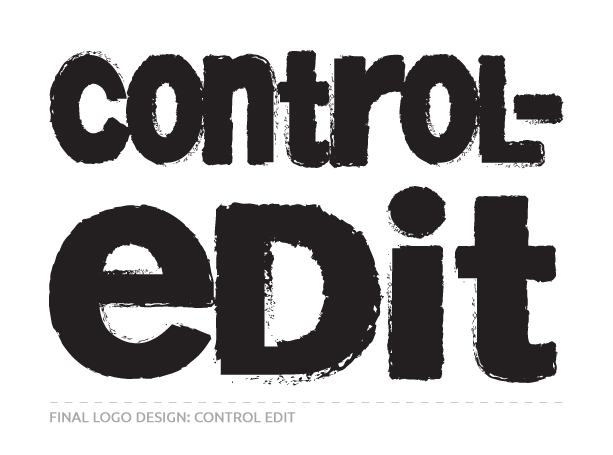 Final Logo Design for Control Edit