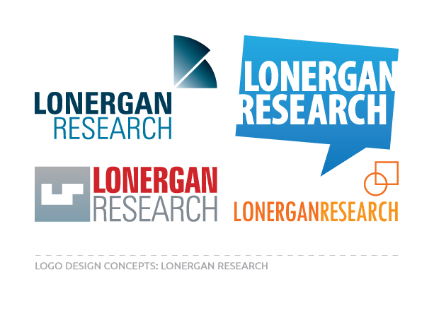Logo Concepts for Lonergan Research