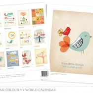 St Michael's Colour My World Calendar
