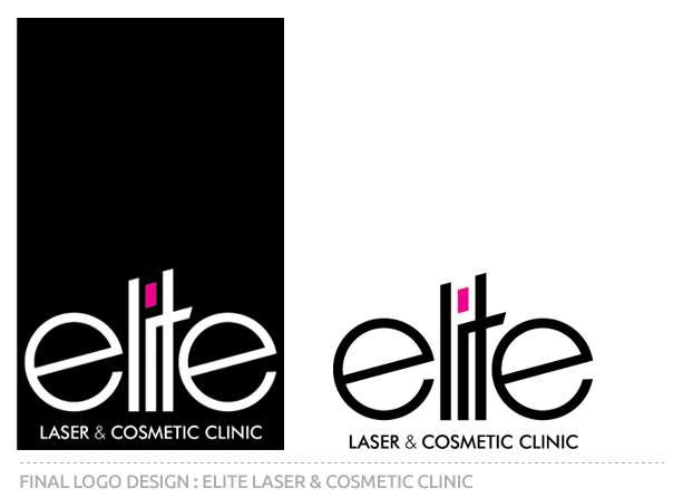 Elite Laser and Cosmetic Clinic Final Logo Design
