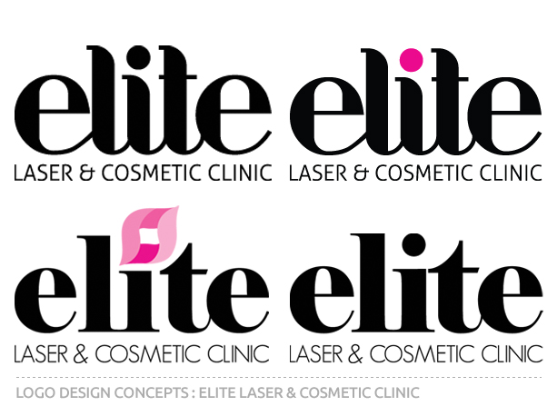 Elite Laser and Cosmetic Clinic Logo Concepts