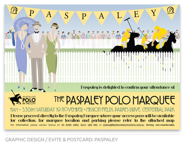 Paspaley Polo in the City Confirmation Email Design 2011