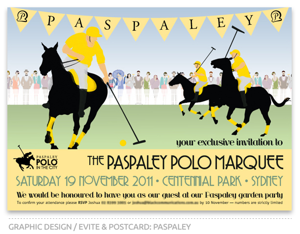 Paspaley Polo in the City Email Invitation 2011