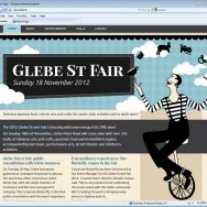 The Glebe Street Fair