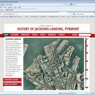Jacksons Landing History Website